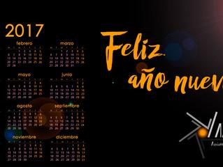 Feliz 2017 ¡con calendario!