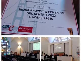 AMBIM gana un premio del Centro YUZZ Cáceres 2016