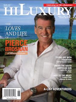 Pierce Brosnan for HI Luxury mag