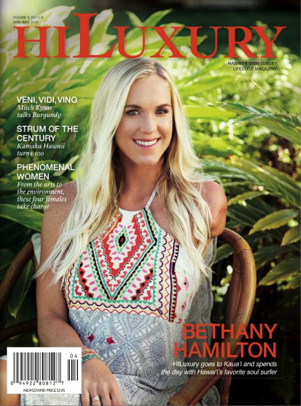 Hi Lux cover - May 2016 -  Bethany Hamilton