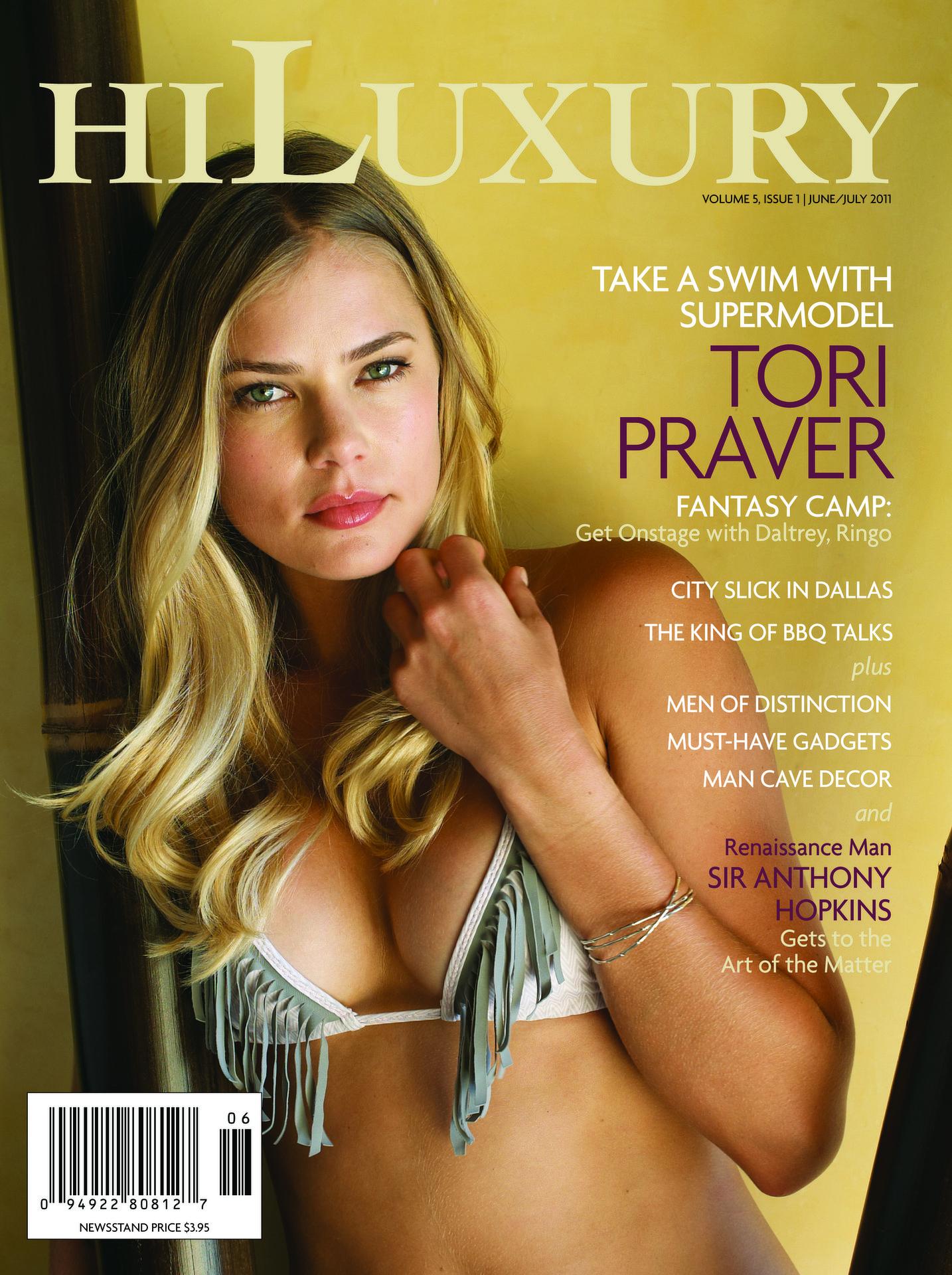 Tori Praver for HI Luxury mag
