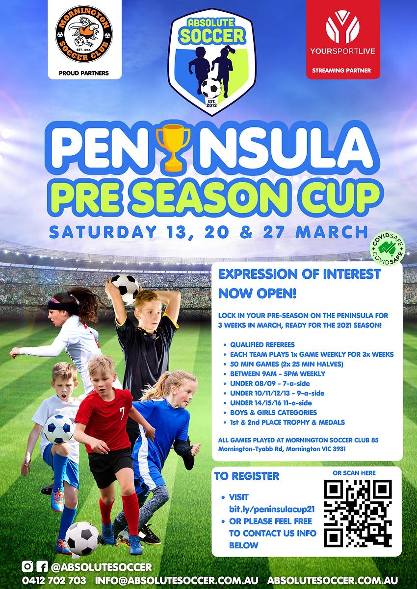 Absolute Soccer - Poster - PRE SEASON CU