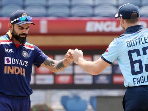 INDIA vs ENGLAND 3rd ODI: England Chasing India's 330