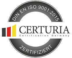 Certuria Siegel ISO 9001_A (Vektoren, CM