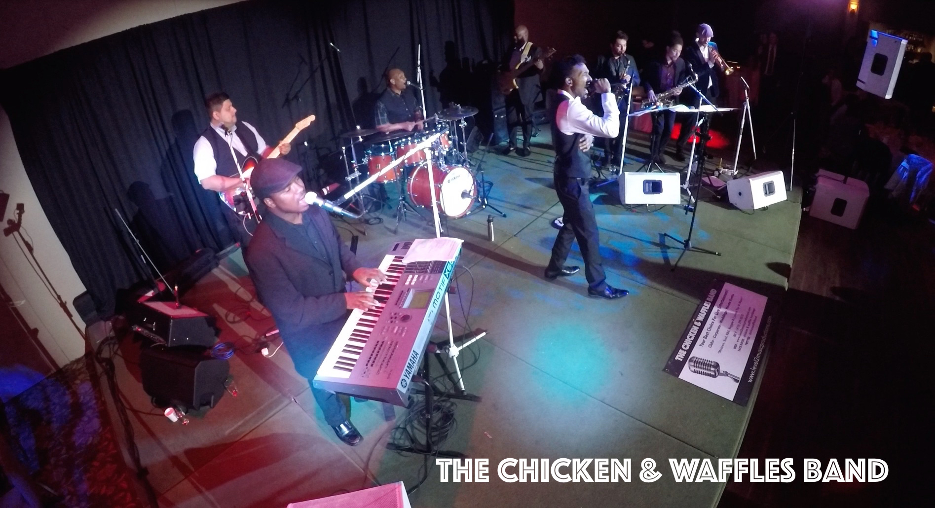 Chicken & Waffles 8 Piece Band