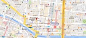 Map of Sega TOKYO Stars and MORE! WIP...