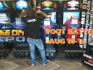 VO-MC Hosts VOOT 5.2 and 5.66 (2000 EDITION) Arcades and Tournaments at Game On Expo!