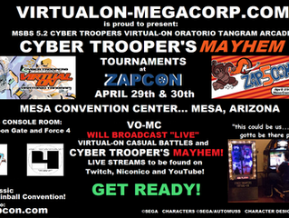 Zapcon 5... Mission Complete Now in Video