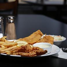 Fish and Shrimp Combo