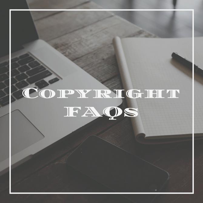 Copyright FAQs