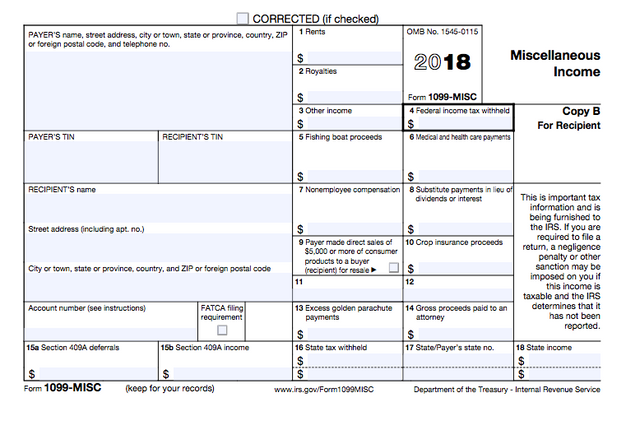 1099 form how does it work  Understanding the 7-MISC Form