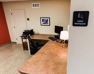 Visitor Workspace