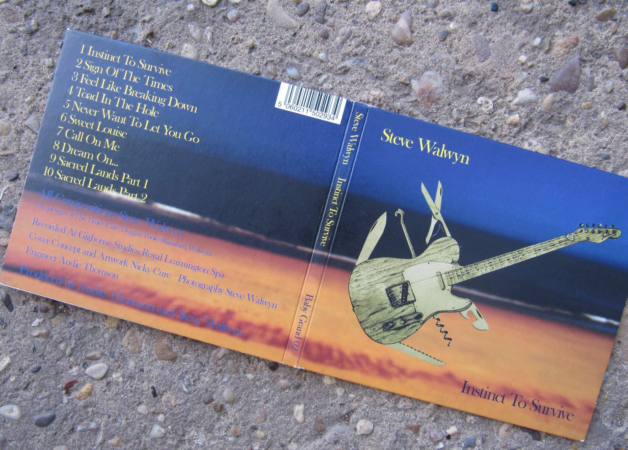 Steve Walwyn Album Design
