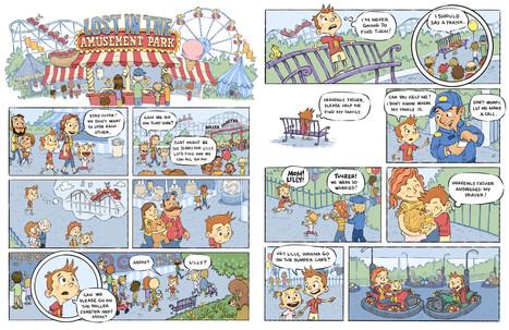 Lost At The Amusement Park