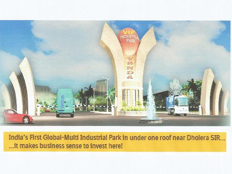 "PROJECT PROMOTED BY U.C.E.E. "" VIP GLOBAL INDUSTRIAL PARK """