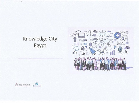 "PROJECT PROMOTED BY U.C.E.E. "" KNOWLEDGE CITY EGYPT - EUROPEAN UNIVERSITY IN EGYPT """