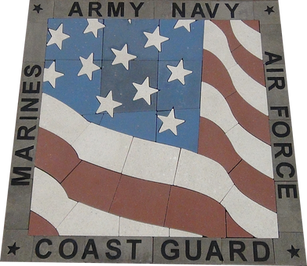 Armed Forces USA Flag