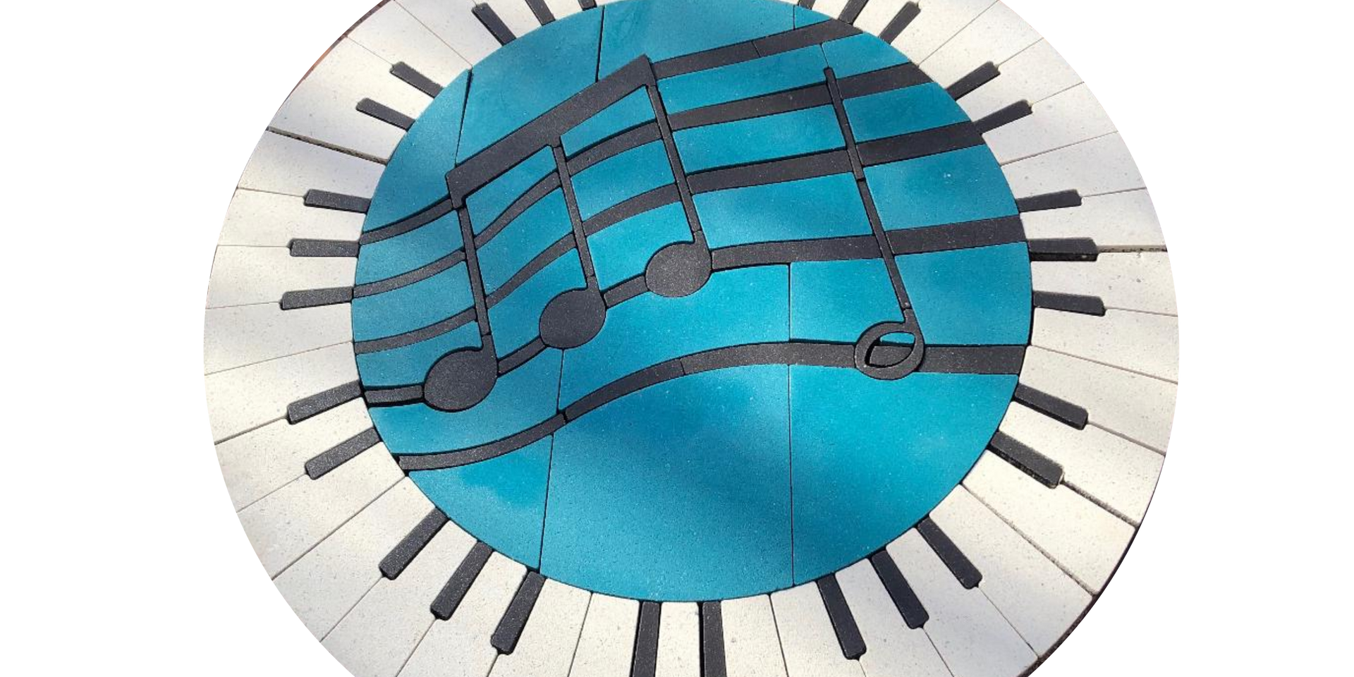 PAVERART Music/Piano Symbol