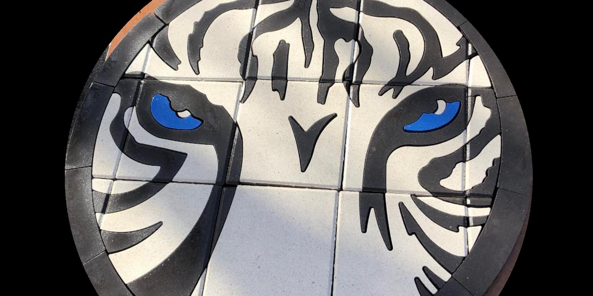 PAVERART White Tiger
