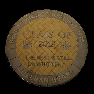 Delran High School Paver Logo 2015