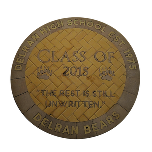 Delran High School Paver Logo 2015