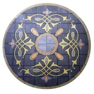 PAVERART Elements Collection Series of Patio Inlays