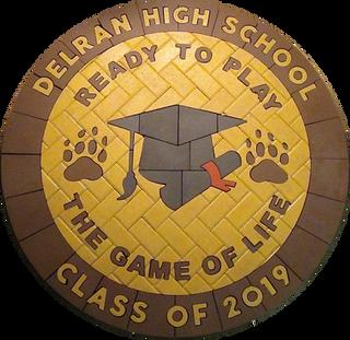 Delran High School Paver Logo 2019