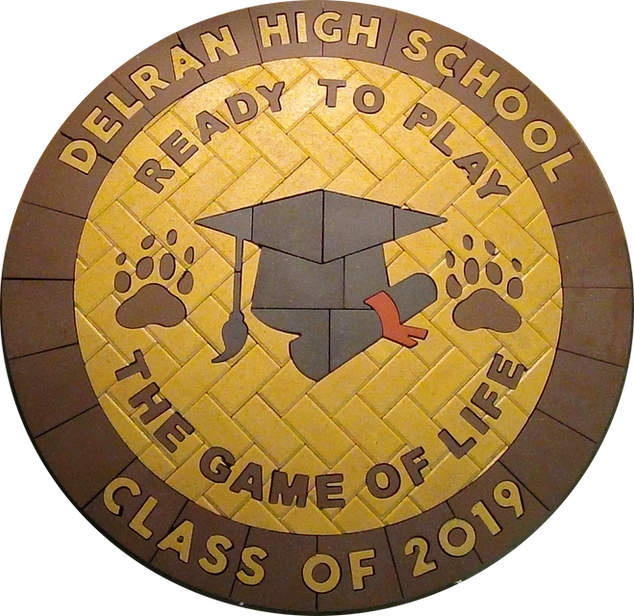 Delran High School Paver Logo 2019