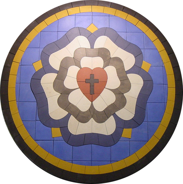 Luthers Rose Inlay