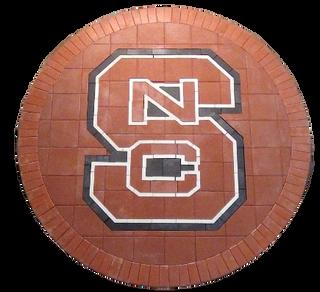 North Carolina State Paver Logo
