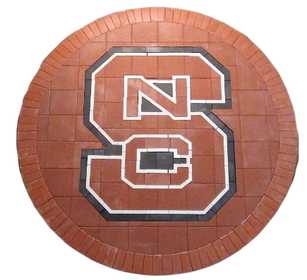 North Carolina State Paver Logo