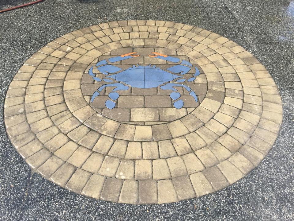 Blue Crab - SKU: ABC001 - Installed by Clean Cut Interlocking Pavers and Pools, LLC in Lewes, Delaware