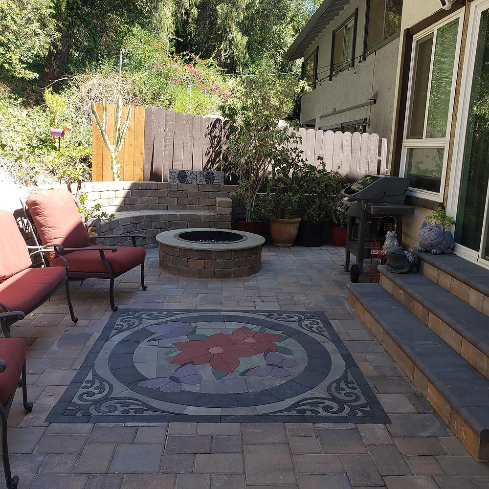 landscape design, patio ideas, patio decor, hardscape design, patio design kit, home improvement