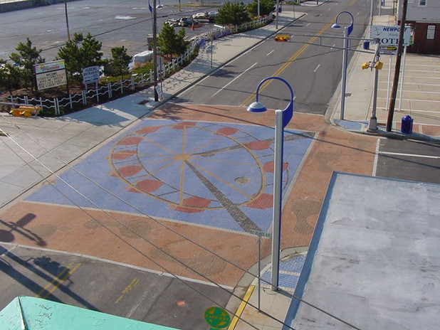 Wildwood PAVERART Ferris Wheel Streetscape