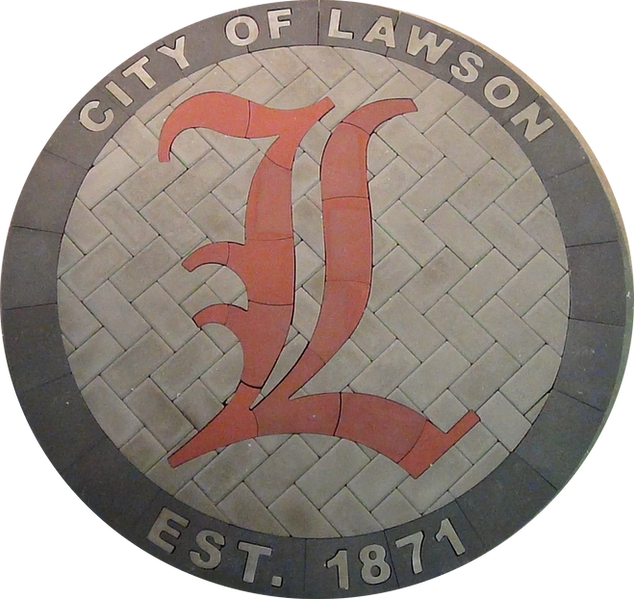 City of Lawson Town Seal