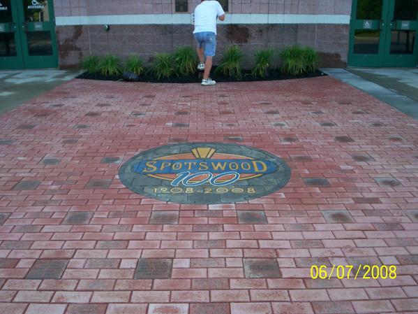 Spotswood NJ 100th Anniversary Walkway