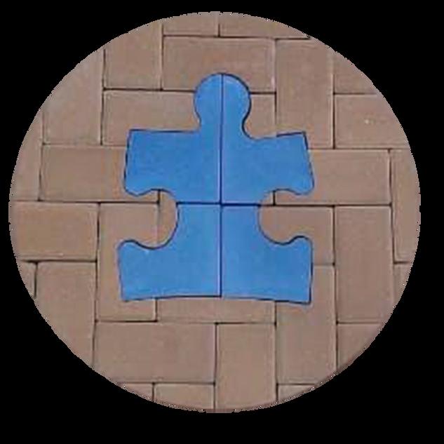 Autism Blue Puzzle Piece
