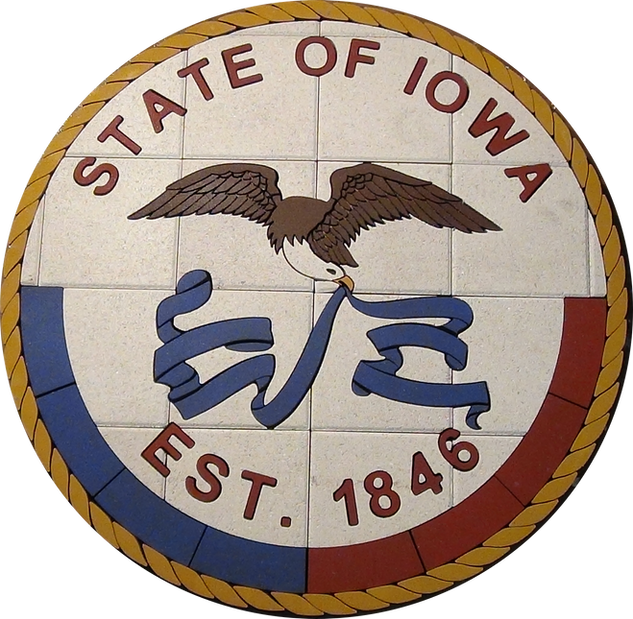 State of Iowa Medallion