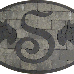 Letter S With Horse Silhouette