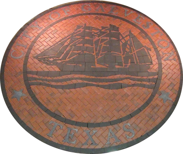 Galveston Texas Town Seal