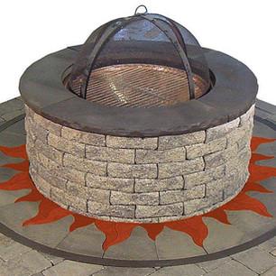 Firepit Ring Flames - SKU:  FPR 004