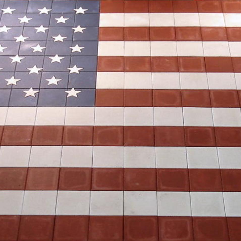 American Flag - SKU:  PT003