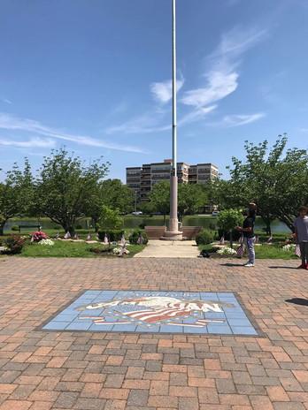 """""""Proud To Be American"""" Memorial in Asbury Park, NJ"""