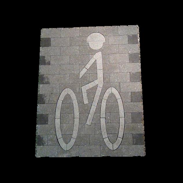 Paverart Bike Path Symbol