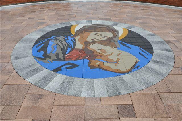 St John Chrysostom Wallingford PA Medallion