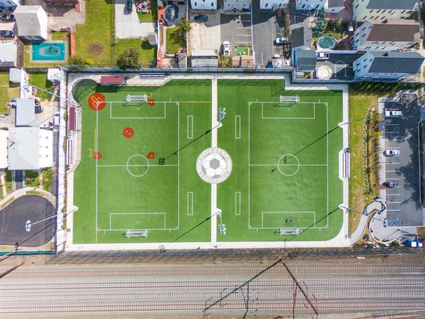 Kenah Field, Soccer Medallion, Elizabeth NJ