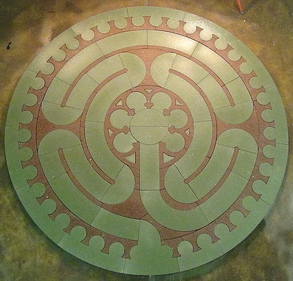 Labyrinth # Ciruit Chartres Style 11 fee