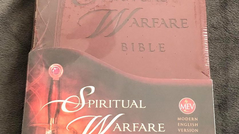 Spiritual Warfare Bible (MEV)