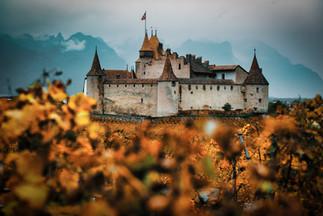 Chateau d'aigle en automne