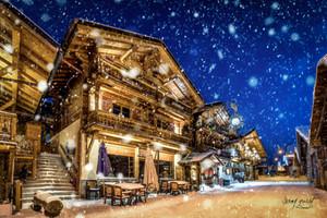 Leysin sous la neige